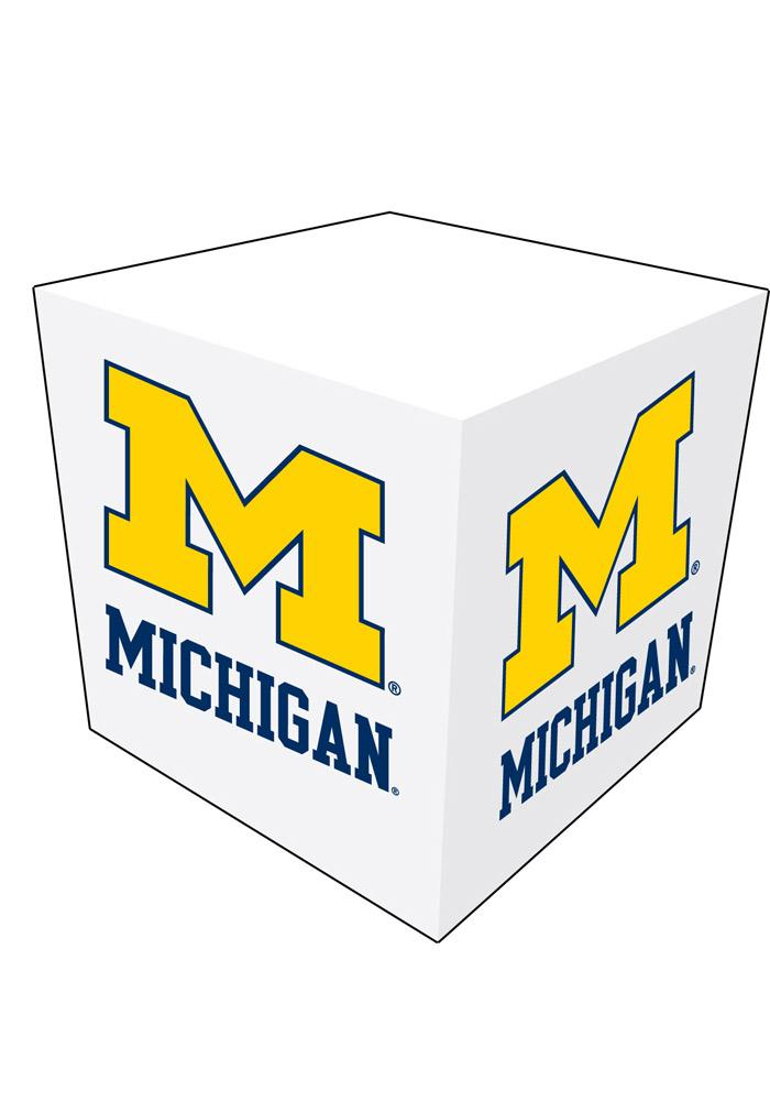 Michigan Wolverines Memo Paper Cube Sticky Notes - Image 1