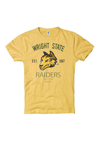 Wright State Raiders Gold Throwback Fashion Tee