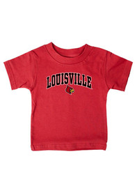 Louisville Cardinals Infant Arch T-Shirt - Red