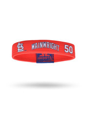 St Louis Cardinals Player Wristband - Red