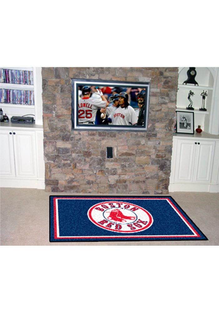 Boston Red Sox 4x6 Interior Rug - Image 1