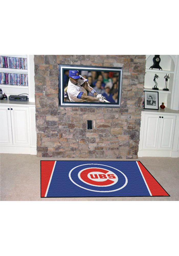 Chicago Cubs 4x6 Interior Rug - Image 1