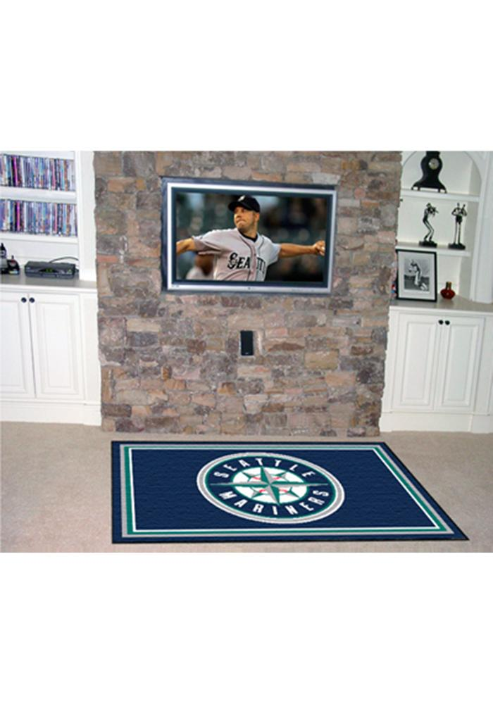 Seattle Mariners 4x6 Interior Rug - Image 1