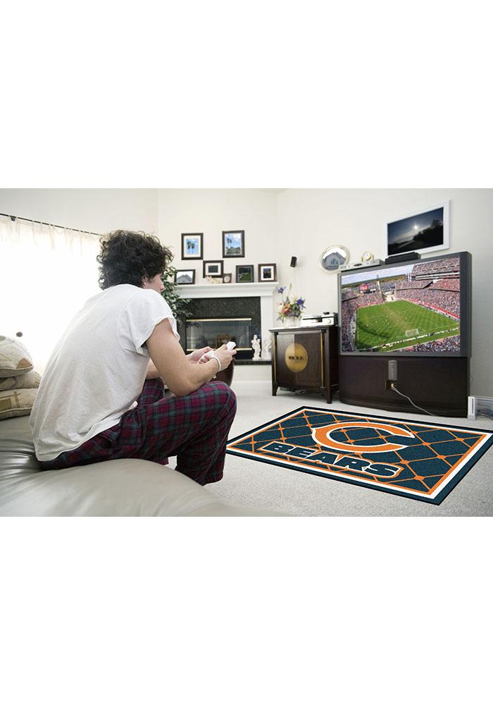 Chicago Bears 4x6 Interior Rug - Image 1