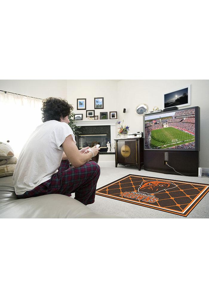 Cleveland Browns 4x6 Interior Rug - Image 1