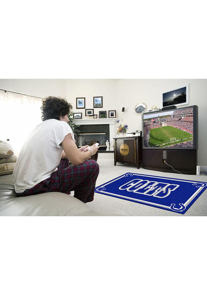 Indianapolis Colts 4x6 Interior Rug - Image 1