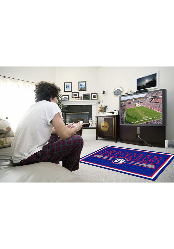 New York Giants 4x6 Interior Rug - Image 1