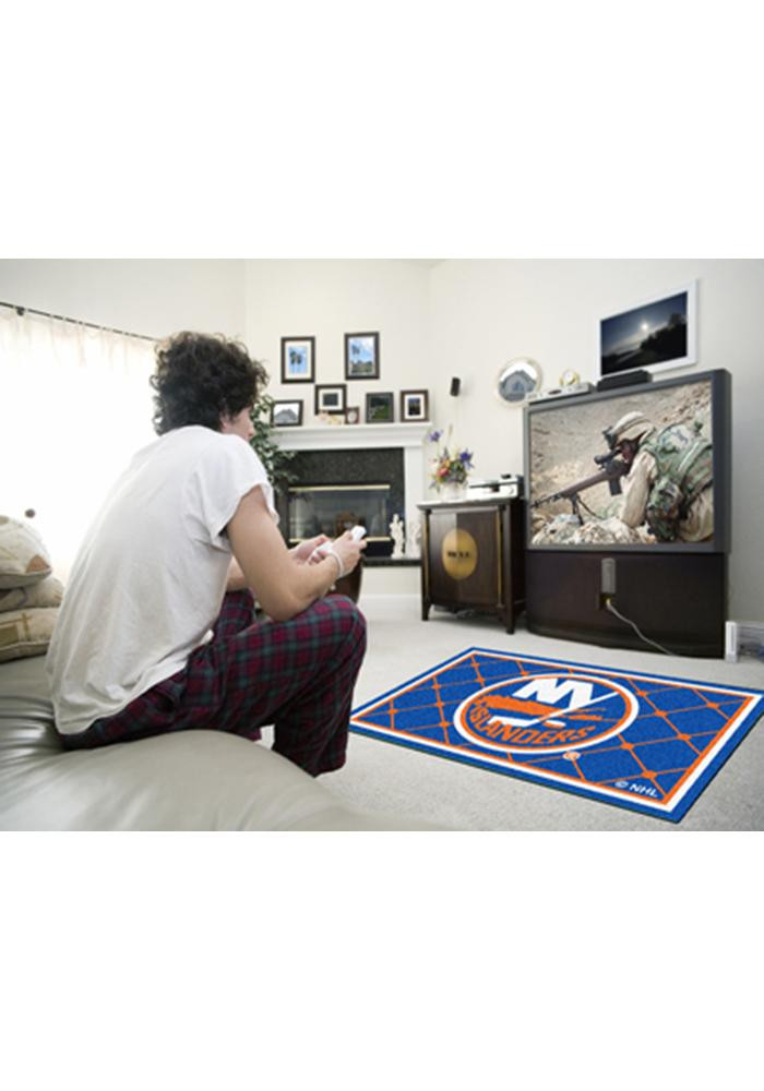 New York Islanders 4x6 Interior Rug - Image 1