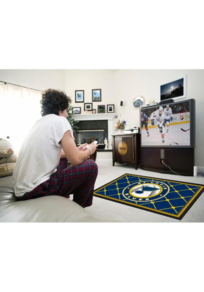 St. Louis Blues 4x6 Interior Rug - Image 1