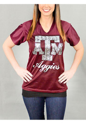 Gameday Couture Texas A&M Womens maroon Fashion Football Jersey