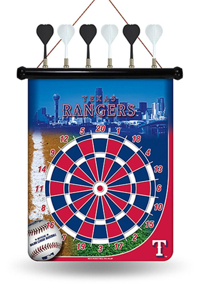 Texas Rangers Magnetic Dartboard Game - Image 1