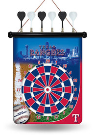Texas Rangers Magnetic Dartboard Game