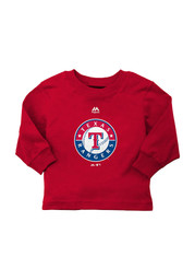 Texas Rangers Baby Red Infant T-Shirt