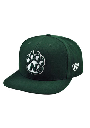 Northwest Missouri State Bearcats Top of the World Mens Green Prime Fitted Hat