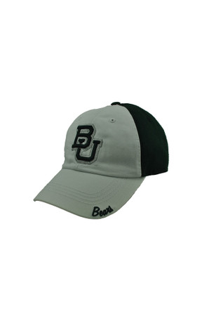 Top of the World Baylor Bears Green Moxie Adjustable Hat