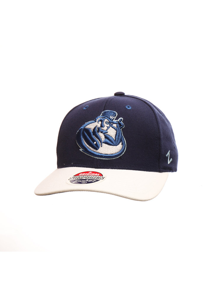 Zephyr Washburn Ichabods Centerpiece Adjustable Hat - Navy Blue - Image 1
