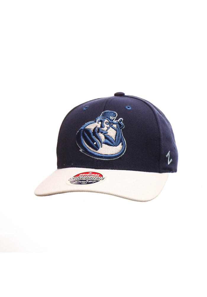 Zephyr Washburn Ichabods Centerpiece Adjustable Hat - Navy Blue - Image 2