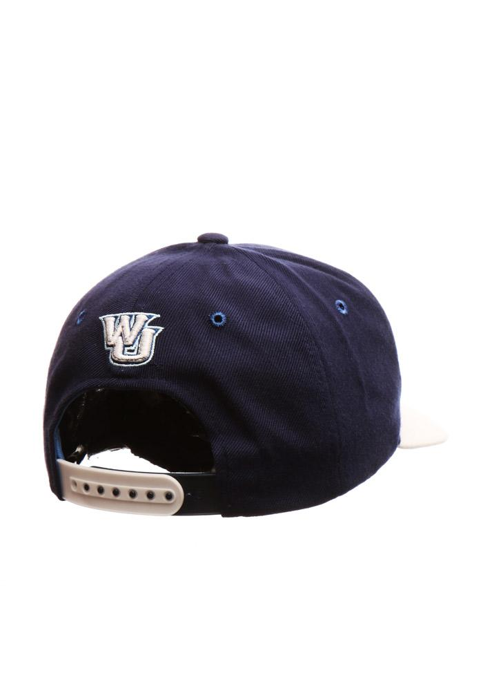 Zephyr Washburn Ichabods Centerpiece Adjustable Hat - Navy Blue - Image 3