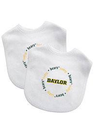 Baylor Bears Baby 2 pack Bib - Green