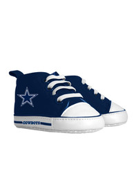 Dallas Cowboys Baby Slip On Shoes - Navy Blue