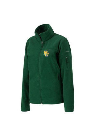 Columbia Baylor Bears Womens Green Give Go Light Weight Jacket