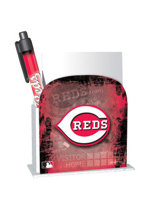 Cincinnati Reds Desk Caddy Notepad