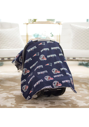 New England Patriots Canopy Car Seat