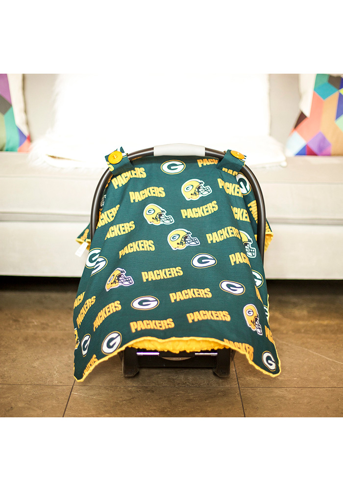 Green Bay Packers Canopy Car Seat