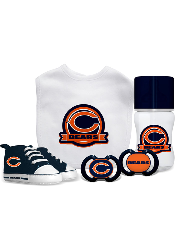 Chicago Bears 5-Piece Baby Baby Gift Set - Image 1