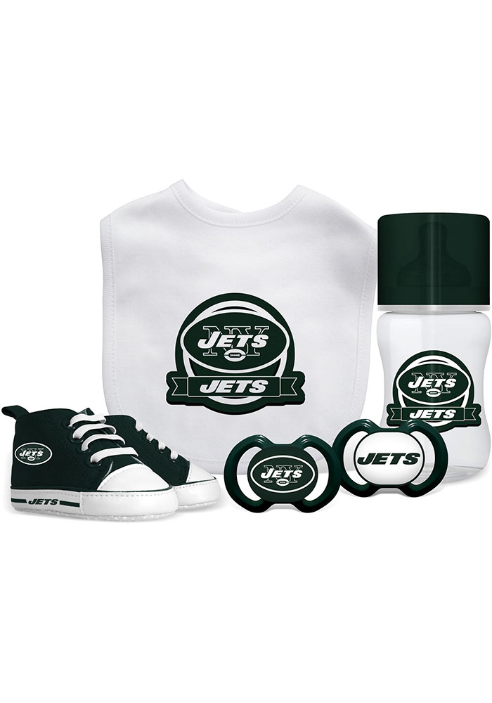 New York Jets 5-Piece Baby Baby Gift Set - Image 1