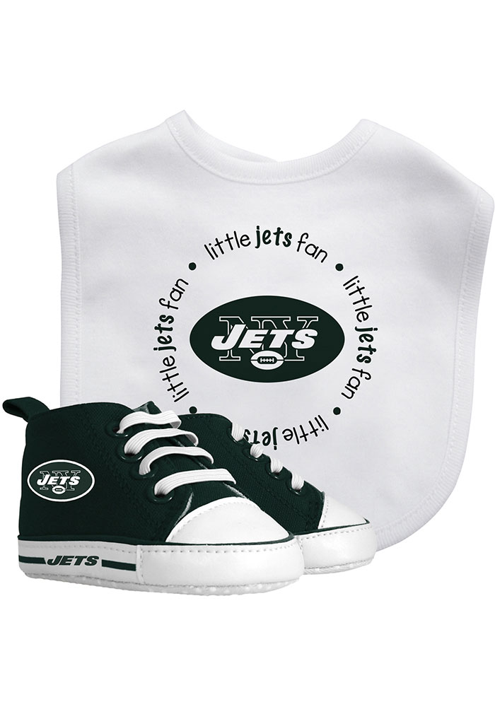 New York Jets Bib with Pre-Walker Baby Gift Set - Image 1