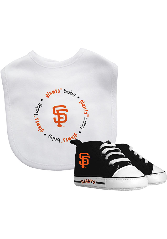 San Francisco Giants Bib with Pre-Walker Baby Gift Set - Image 1