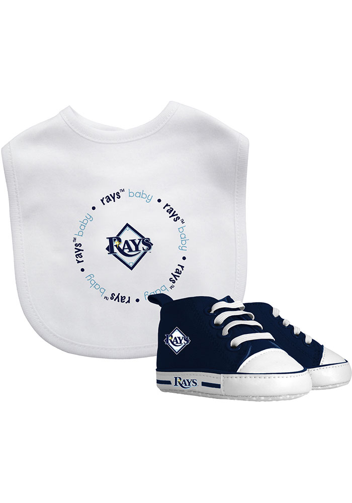 Tampa Bay Rays Bib with Pre-Walker Baby Gift Set - Image 1