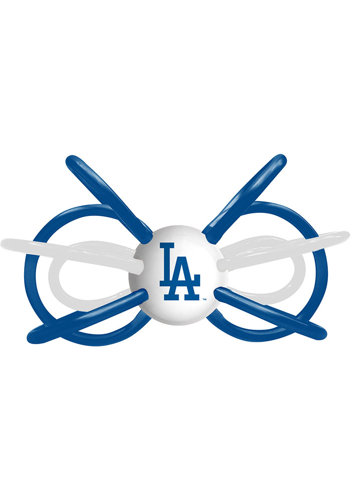 Los Angeles Dodgers Teether Baby Rattle - Image 1