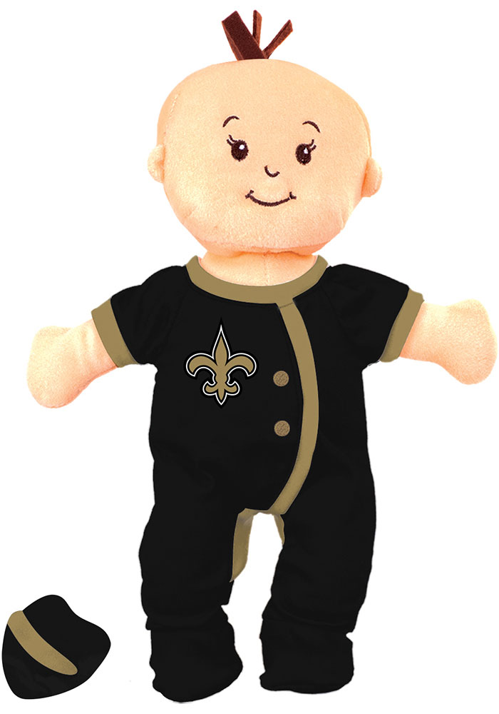 New Orleans Saints Wee Baby Fan Doll Plush - Image 1