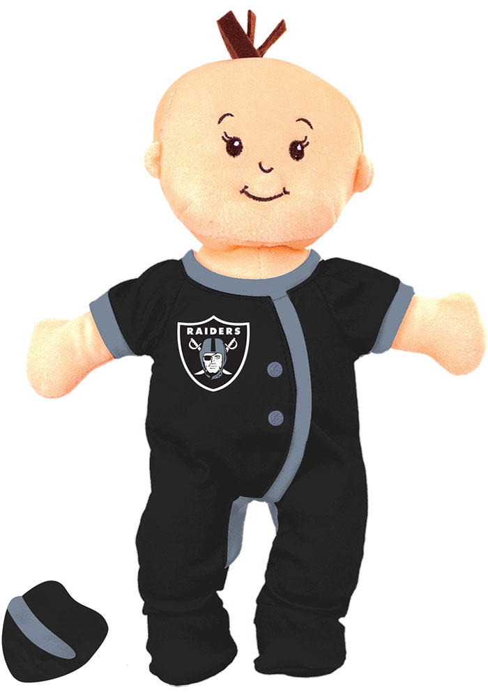 Oakland Raiders Wee Baby Fan Doll Plush - Image 1