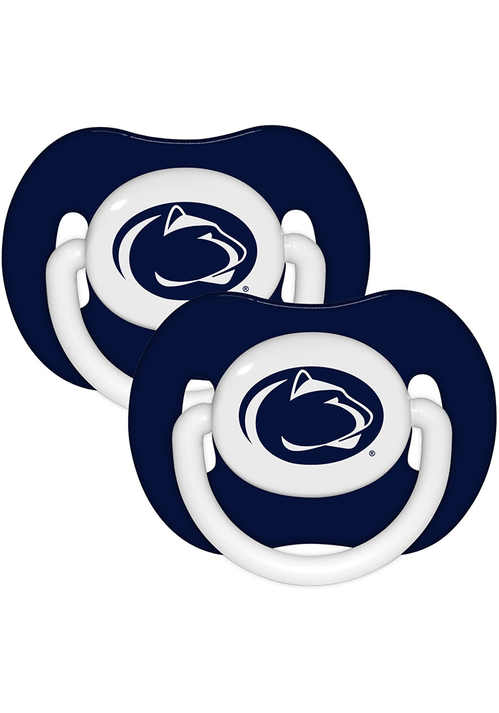Penn State Nittany Lions Team Color 2 pack Baby Pacifier - Image 1