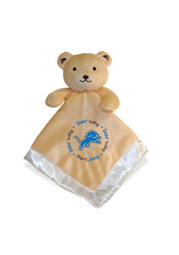 Detroit Lions Security Bear Baby Blanket - Image 1