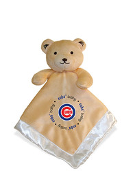 Chicago Cubs Baby Security Bear Blanket - Brown