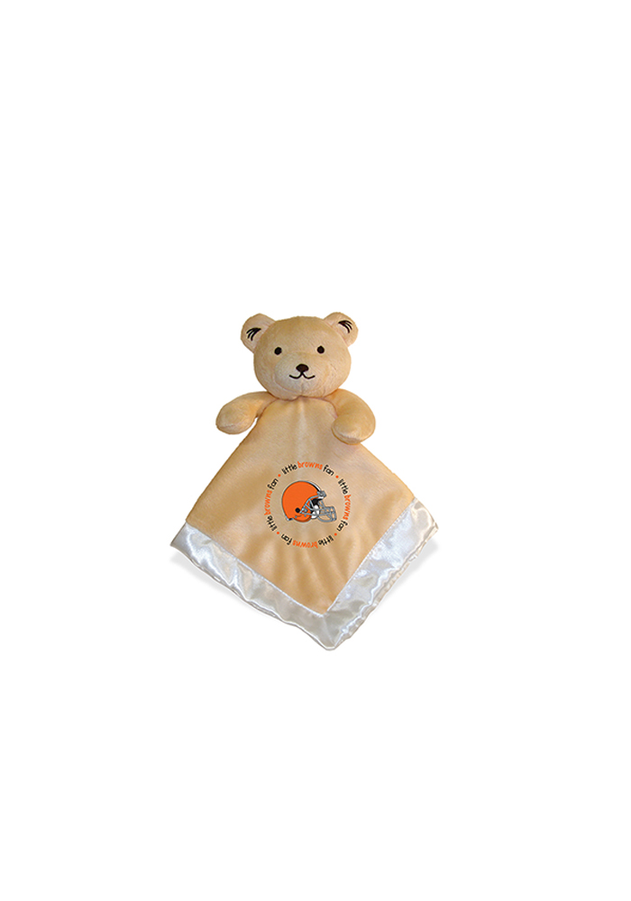 Cleveland Browns Security Bear Baby Blanket - Image 1