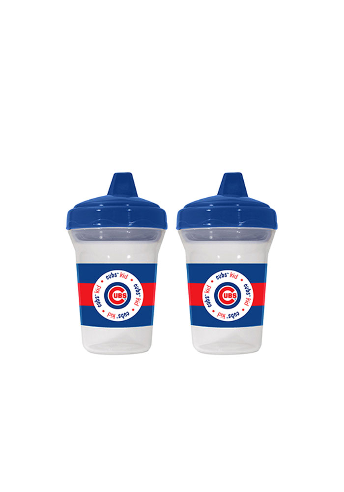 Chicago Cubs 2 pack, 5 oz Baby Bottle - Image 1
