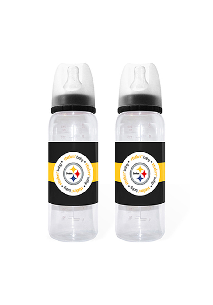 Pittsburgh Steelers 2 Pack Bottle Baby Bottle - Image 1