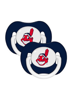 Cleveland Indians 2 Pack Pacifier