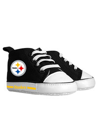Pittsburgh Steelers Baby Slip On Shoes - Yellow