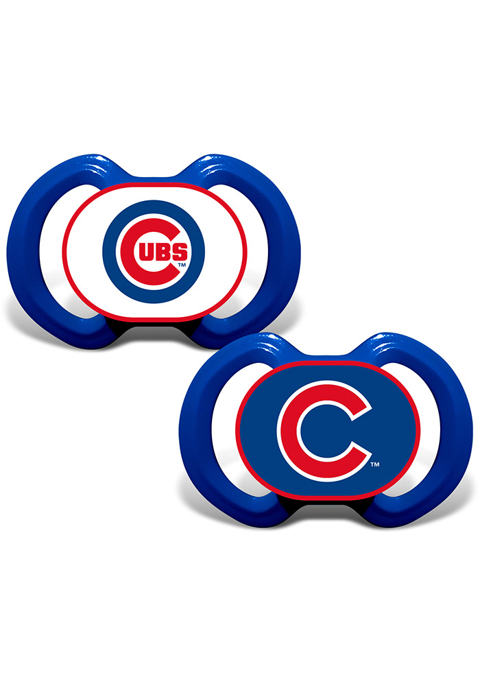 Chicago Cubs 2 pack Baby Pacifier - Image 1