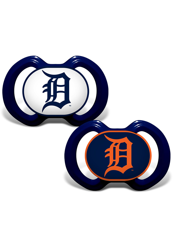 Detroit Tigers 2 pack Baby Pacifier - Image 1