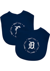 Detroit Tigers Baby 2 pack Bib - Navy Blue