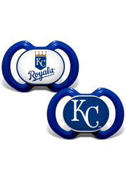 Kansas City Royals Baby 2 pack Pacifier - Blue