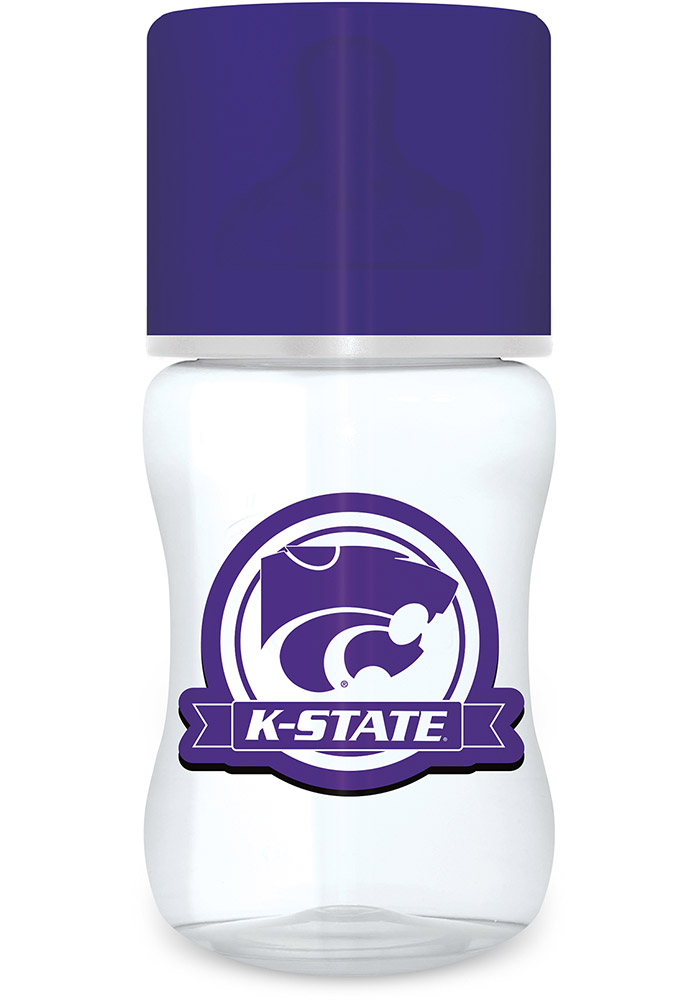K-State Wildcats 1 pack Baby Bottle - Image 1