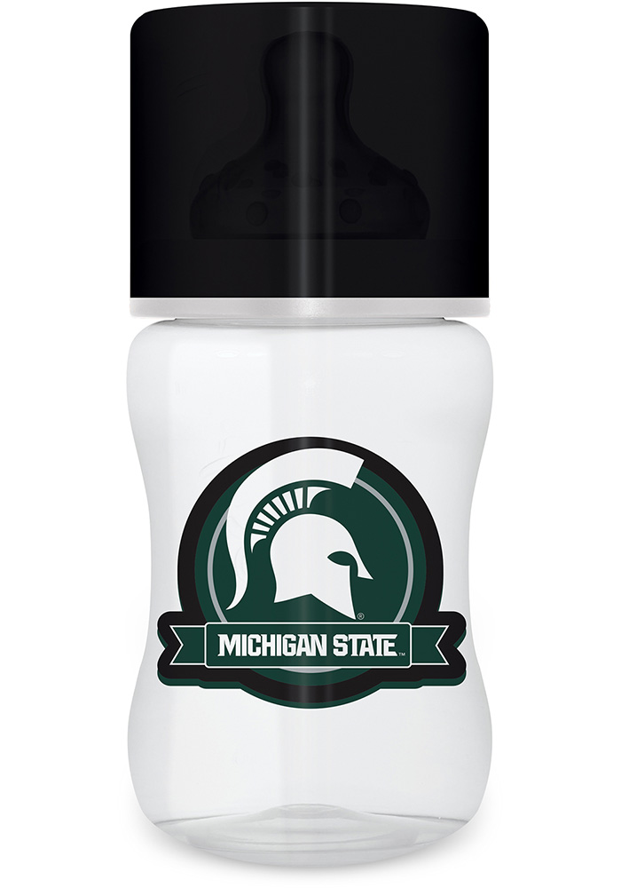 Michigan State Spartans 1 pack Baby Bottle - Image 1